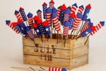 July 4th Party Ideas / Party Invitations and Decorations, Party Eats and Treats, Party Decor and Ideas for the Fourth of July! / by Cutie Patootie Creations