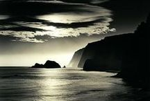 A -BW/Earth, Sea and Sky / by Elaine Reinhold