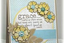 Grace / Grace has been retired as an individual stamp, but can now be purchased as part of the Scripture Medley 4 stamp set. http://shopverve.com/vs-0246.html