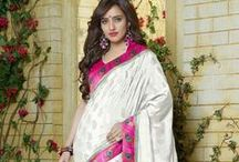 Printed Sarees / Discover charming collection of Printed Sarees at YourDesignerWear.