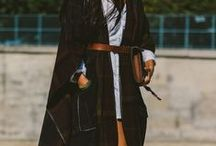 Fall/Winter Outfit Ideas / What to wear as you kiss summer goodbye and say hello to fall/winter layers.