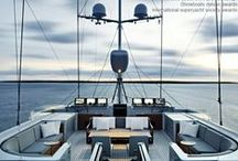 BOAT DESIGN / Exceptional superyacht interior design and exterior styling.  The latest luxury yacht designs and interiors with exclusive insight from super-yacht designers. Perfect yacht design for your dream superyacht.