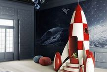 INTERIOR: KIDS ROOM DESIGN / Ideas for kids rooms that include some Star Wars-themed design ideas.  Fun and innovative design to make your kids WANT to be sent to their rooms.
