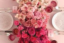 LIFESTYLE: VALENTINE'S DAY / Valentine's day interior design inspiration - dining, furnishings, furniture, fashion, flowers, decor! Enjoy!