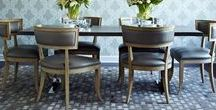 Modern Dining Chairs / Nothing like inovating and modern chairs to give your dining room a contemporary design. Here you can find inspiration to choose the chair that most fits your dining room. Follow us!