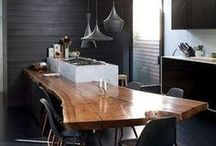 Unique Wooden Dining Tables / Best Square Dining Table Ideas | Projects and pieces by Philippe Starck, Marcel Wanders, Jean-Louis Deniot, Martin Brudnizki, Kelly Wearstler, David Collins, Jacques Grange, Peter Marino, Alberto Pinto, Christian Liaigre and other great names and brands.