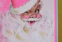 Pink {Loves} a Vintage Christmas / Cards, pictures and images of Christmas past