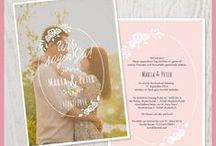 Hochzeitskarten mit Liebe selber estellt / Mit wenigen Klicks liebevolle Einladungen und Dankeskarten zur Hochzeit erstellen.