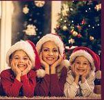 Weihnachtskarten und Neujahrsgrüße für Familie und Freunde / Design auswählen, Text anpassen, Fotos hochladen und verschicken. Gedruckt und geliefert in 48 Std.
