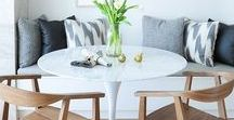 Small Dining Rooms Ideas / Do you have a small dining room but still want to make it beautiful and modern? Here you'll find teh best ideas for your dining room! Follow us!