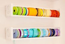 craft storage / by Julie Engel