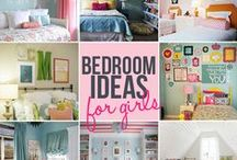 Girls bedrooms / by Lori Rykhus
