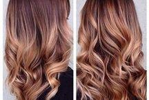 Kapsels voor dames met lang haar. / Kapsels en haarkleuren voor lang haar.