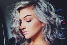 Kapsels voor dames met halflang haar. / Kapsels en haarkleuren voor halflang haar.