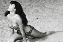 Bettie Page / by Kristin Leedy Kessler
