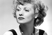 Lucille Ball <3 / Lucille Désirée Ball (August 6, 1911 – April 26, 1989) was an American comedienne, model, film and television actress and studio executive. Ball met and eloped with Cuban bandleader Desi Arnaz in 1940. Ball and Arnaz divorced on May 4, 1960. On April 26, 1989, Ball died of a dissecting aortic aneurysm at age 77. She had been married to her second husband Gary Morton, for more than 27 years. / by Kristin Leedy Kessler