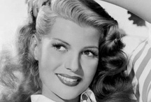 Rita Hayworth / Rita Hayworth (born Margarita Carmen Cansino; October 17, 1918 – May 14, 1987) was an American dancer and film actress who achieved fame during the 1940s as one of the era's top stars. Married 5 times, spouses included Orson Welles, and Prince Aly Khan. She died at age 68 from Alzheimer's disease. / by Kristin Leedy Kessler