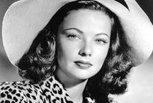 Gene Tierney / Gene Eliza Tierney (November 19, 1920 – November 6, 1991)was an American film and stage actress.  Acclaimed as one of the great beauties of her day. / by Kristin Leedy Kessler