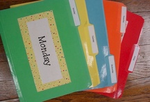Classroom Organization/Beginning of Year For School / by Trisha 'Jones' Desmarais