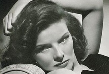 Katharine Hepburn / Katharine Houghton Hepburn (May 12, 1907 – June 29, 2003) was an American actress of film, stage, and television. Known for her headstrong independence and spirited personality. Hepburn famously shunned the Hollywood publicity machine, and refused to conform to society's expectations of women. She was outspoken, assertive, athletic, and wore trousers before it was fashionable for women to do so. / by Kristin Leedy Kessler