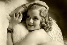 Jean Harlow / Jean Harlow (born Harlean Harlow Carpenter; March 3, 1911 — June 7, 1937) was an American film actress and sex symbol of the 1930s. She died of renal failure during the filming of Saratoga in 1937 at the age of 26. / by Kristin Leedy Kessler