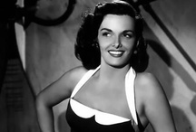 Jane Russell / Ernestine Jane Geraldine Russell (June 21, 1921 – February 28, 2011) was an American film actress and was one of Hollywood's leading sex symbols in the 1940s and 1950s. / by Kristin Leedy Kessler