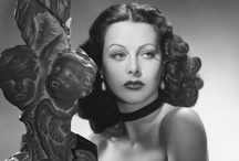 "Hedy Lamarr / Hedy Lamarr (9 November 1913 – 19 January 2000) was an Austro-American actress and mathematician, celebrated for her great beauty, who was a contract star of MGM's ""Golden Age."" Mathematically talented, she and composer George Antheil invented an early technique for spread spectrum communications and frequency hopping, necessary for wireless communication from the pre-computer age to the present day. / by Kristin Leedy Kessler"