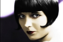 Louise Brooks / Mary Louise Brooks (November 14, 1906 – August 8, 1985), generally known by her stage name Louise Brooks, was an American dancer and actress, noted for popularizing the bobbed haircut. / by Kristin Leedy Kessler