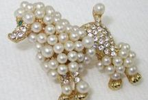 Pearls for Glamour Girls / Vintage Jewelry with Faux or Real Pearls