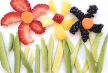 Comida niños / Alimentos sanos y divertidos para niños