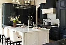 Dream Kitchens / Inspired spaces to start the day with a perfect cup of coffee – and end the day with good friends and a glass of wine.  / by Smith & Noble