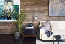 Reclaimed Wood  / Warm, modern and perfectly at home in any space.  / by Smith & Noble