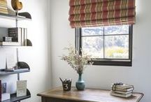 Fabric Shades  / Shades from smith+noble / by Smith & Noble