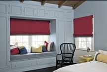 Red Window Treatments / by Smith & Noble