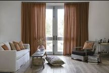 Orange Window Treatments / by Smith & Noble