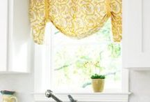 Yellow Window Treatments / by Smith & Noble