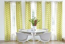 Green Window Treatments / by Smith & Noble