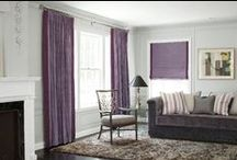 Puple/Pink Window Treatments / by Smith & Noble