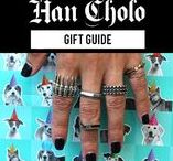 gifts that keep on giving / Han Cholo coming at you with gift ideas for your whole family! when we say your whole family we mean your whole family grandmas gift, grandpas gift, moms gift, dad gift, brothers gift, sisters gift, girlfriends gift, boyfriends gift and most importantly yourself! Get your holiday gift shopping done now.