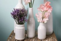 DIY : Interior : Bottles, jars, cans, pots, vases etc