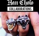 Han Cholo: Collaborations / Streetwear Jewelry Collaborations- Two heads are better than one!