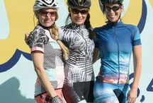 Spring Cycling Apparel 2017 / Our favorite spring prints for women's cycling jerseys, bottoms, bibs, and accessories! These pieces are perfect for indoor cycling, outdoor cycling, mountain biking, and triathlons!