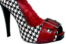 Houndstooth- Roll Tide! :) / I bleed Crimson and White / by I am UNABASHED