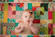 My quilts in action! / A collection of pictures with quilts I have made-- taken by my talented friend, Sara Rose of Sara E Rose Photography in Nashville.
