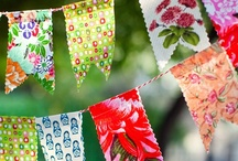 bunting and garlands
