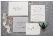 Invitations + Paper Goodness / Find wedding and event invitations, escort cards, place cards, and other beautiful paper ideas.