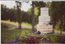 Cake + Sweets / Cakes, pies, cookies, candy, and desserts for a sweet ending to your wedding day.