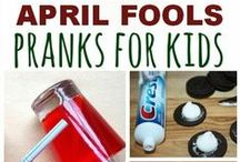 Holidays - April Fool's Day / Helping homeschoolers have fun during the holidays!