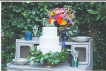 Blue + Purple Ideas / Blue and purple wedding and party ideas.