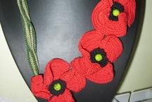 My Crochet Necklaces/ Le mie collane all'uncinetto / My passion/La mia passione